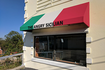Angry Sicilian Awning by Neilly Canvas Goods