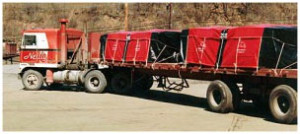 Steel Tarps and Coil Bags and Lumber Tarps